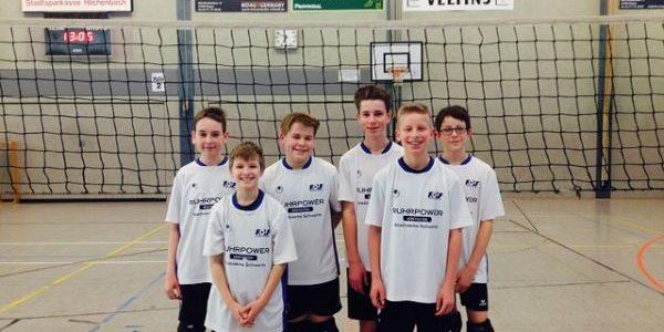 FBG-Volleyballer sind Bezirksmeister