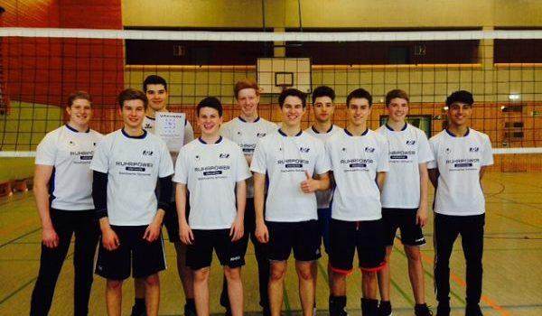 Bezirksmeisterschaft der Volleyball-Jungen WKII
