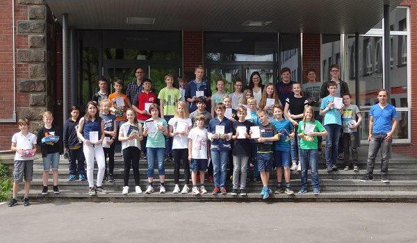 FBG-Schüler erfolgreich beim Känguru-Wettbewerb