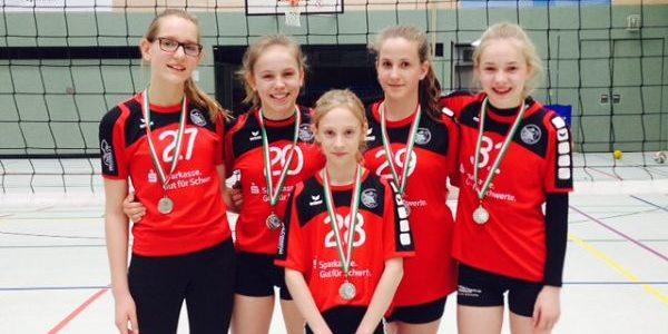 FBG-Volleyballer erreichen Platz 2 beim Landesfinale