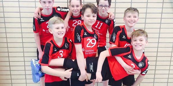 Volleyball-Jungen beim Landesfinale erfolgreich