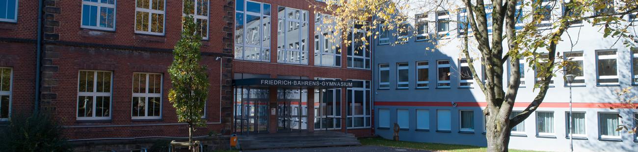 Herzlich willkommen am<br>Friedrich-Bährens-Gymnasium