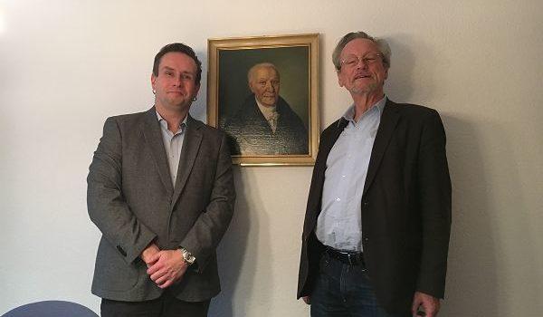 Prof Dr. Peter Brandt am FBG