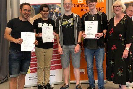 FBG-Schüler erreichen 2. Platz bei World Robot Olympiad
