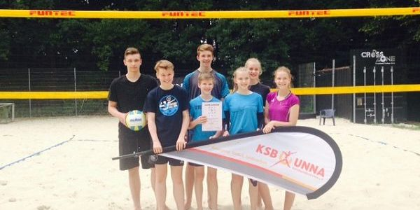 FBG-Beachvolleyball-Team steht im Landesfinale