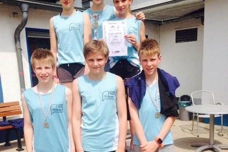 FBG-Team erneut Zweiter bei den Triathlon-Landesmeisterschaften