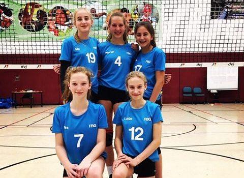 FBG-Volleyballerinnen belegen 8. Platz bei den deutschen Schulmeisterschaften