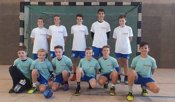 FBG-Jungen erreichen souverän die Handball-Bezirksmeisterschaften