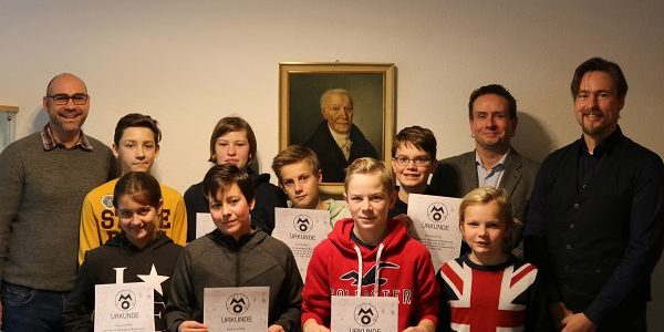 FBG Schülerinnen und Schüler erfolgreich bei der 2. Runde der Mathematik-Olympiade 2018