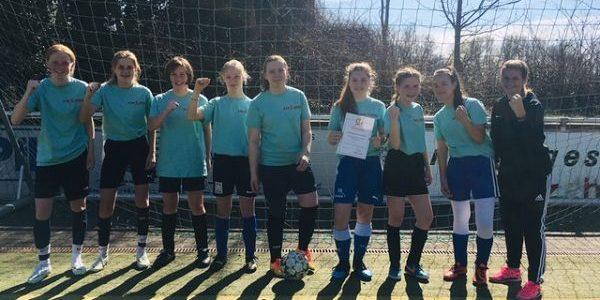 FBG erfolgreich bei der Endrunde der Mädchenfußball-Kreismeisterschaften