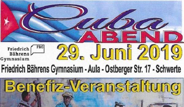 Benefiz-Veranstaltung: Musik live aus Cuba!