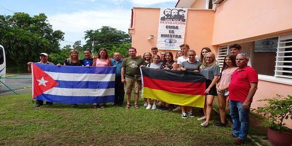 Bericht vom ersten Austausch mit Kuba