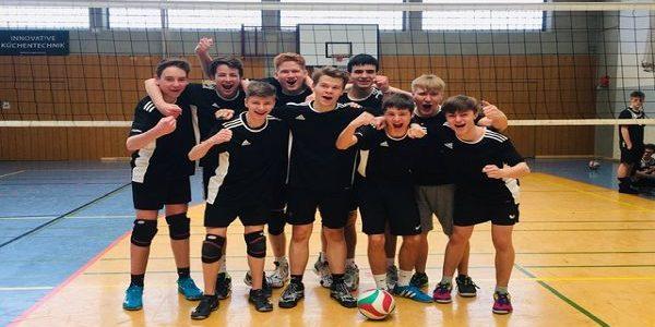 Volleyball am FBG: WK2-Jungen sichern sich den Bezirksmeister-Titel und ziehen ins Landesfinale ein