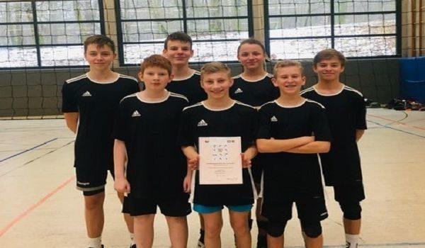 Volleyball am FBG: WK3-Jungen scheitern knapp im Finale